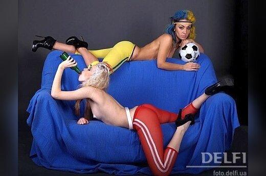 FEMEN предлагает свои талисманы для Евро-2012