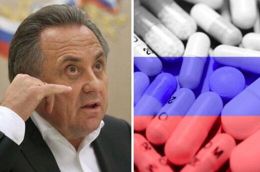 Vitalijus Mutko ir dopingas (Vida Press nuotr.)