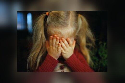 Liūdesys, vaikas, mergaitė