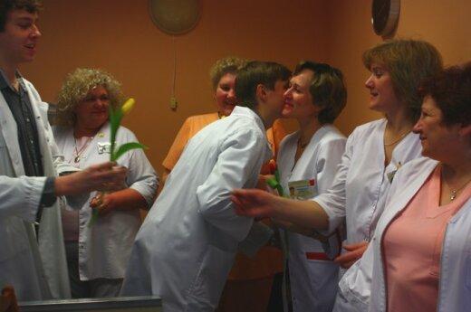 Medicinos studentų sveikinimai