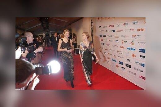 Парад нарядов на вручении кинонаград в Таллинне