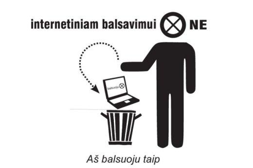 Internetiniam balsavimui - NE