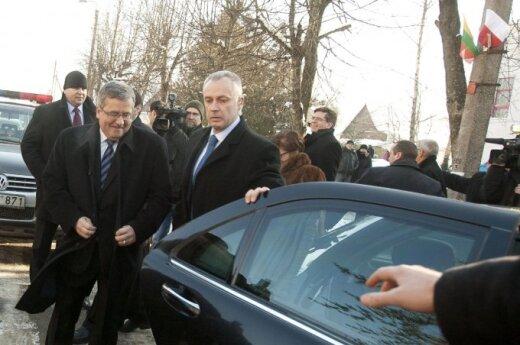 Wizyta Bronisława Komorowskiego w Puńsku