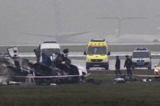 Lėktuvo katastrofa Maskvos Vnukovo oro uoste.