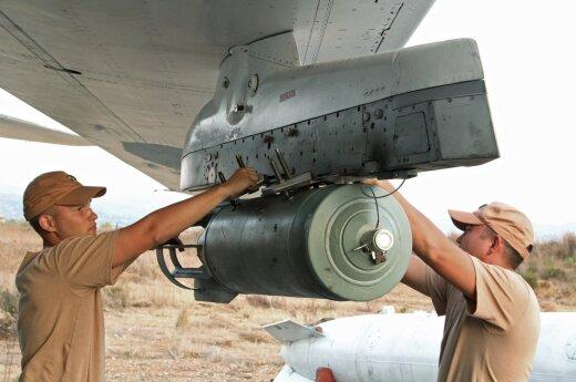 Минобороны Великобритании: Россия в Сирии бомбит оппозицию Асада