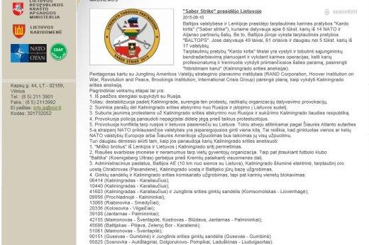 Взломан сайт Литовской армии: хаккеры сообщают о подготовке к аннексии Калининграда