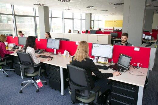Western Union service centre in Vilnius