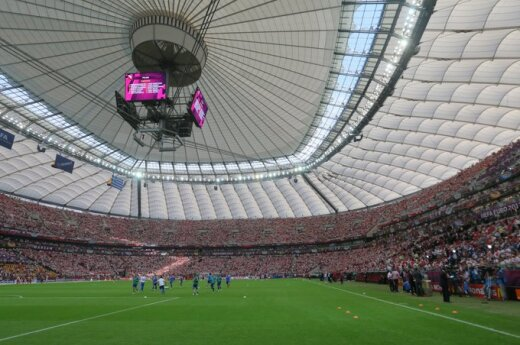 Warszawa: Mecz Polska - Anglia zatopiło