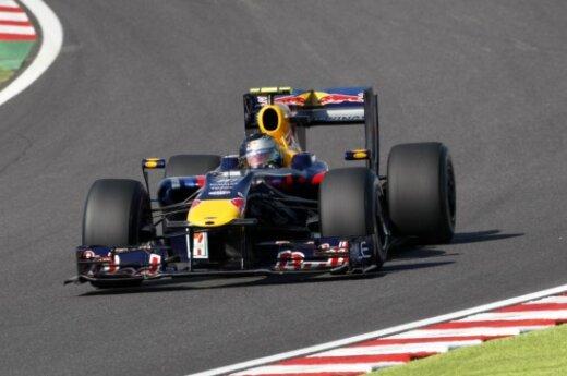 """Pernai Kinijoje nugalėjo S.Vettelis (""""Red Bull"""")"""
