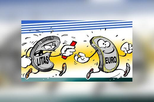 Euras perima estafetės lazdelę iš Lito