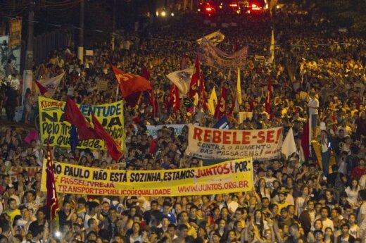 Brazylia: Piłkarski mundial wywołał zamieszki
