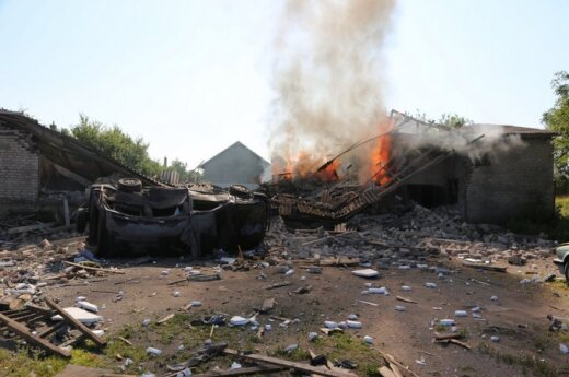В Шилутском районе произошел взрыв, найден погибший мужчина
