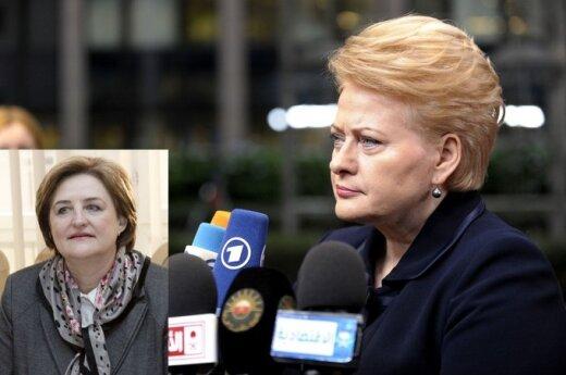 Loreta Graužinienė, Dalia Grybauskaitė