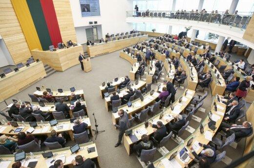 Lithuanian parliament backs revised budget