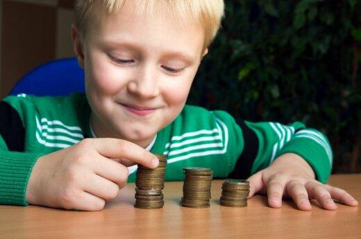 Vaikas ir pinigai