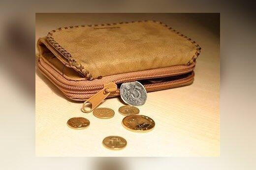 Litai, centai, piniginė