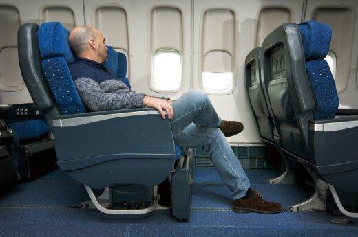 Kodėl būtina susirūpinti tiems, kuriems keliaujant tenka ilgai sėdėti