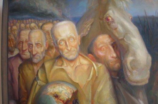 Vilniaus bibliotekoje - išskirtinio dailininko darbų paroda