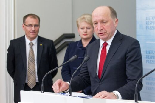 Algis Čaplikas, Dalia Grybauskaitė ir Andrius Kubilius