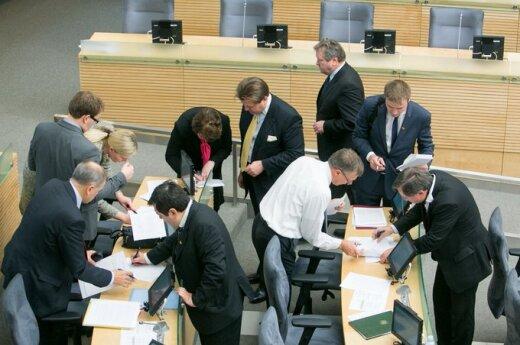 Mieszkańcy Litwy są zadowoleni z nowego składu Sejmu