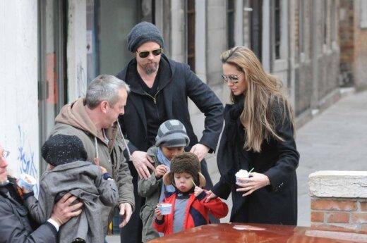 Więcej dzieci Brada Pitta i Angeliny Jolie w filmie