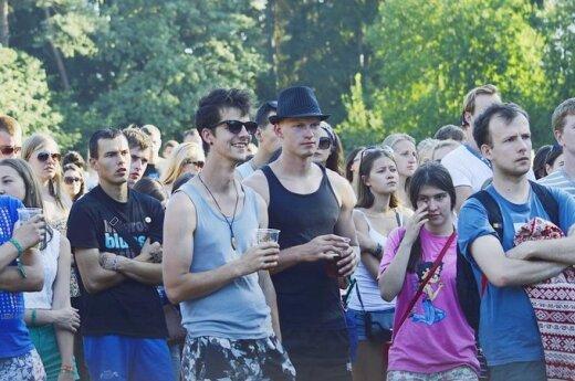 """""""Granatos Live"""" festivalyje atlikėjas """"Dub Fx"""" scenoje pirmą kartą pasirodė be savo įrangos"""