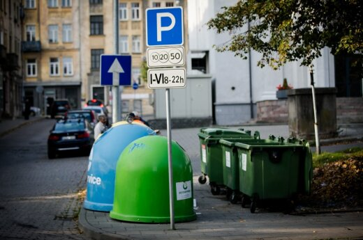Lithuanians sort only 5% of waste