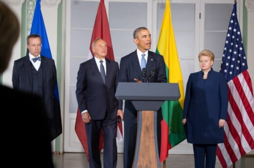 Barack Obama and Baltic leaders