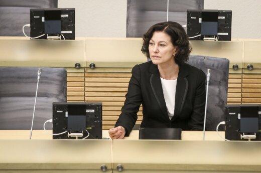 Сейм отклонил кандидатуру Дамбраускене на должность генпрокурора Литвы