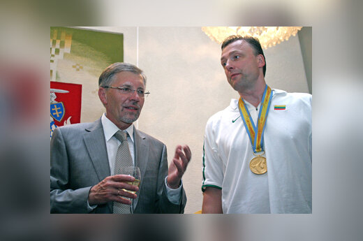 Gediminas Kirkilas ir Mindaugas Lukošius