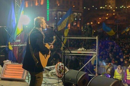 """Макс Мельман из """"Биплана"""": люди на Майдане просто хотят свободы"""