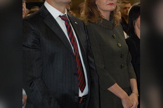 Viktoras Uspaskichas ir Jolanta Blažytė