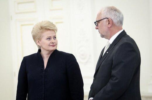 Dalia Grybauskaitė ir Dainius Pavalkis