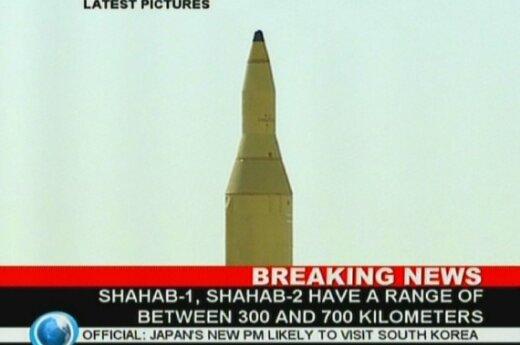 Iranas išbandė tolimojo nuotolio raketą