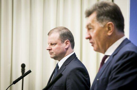 Saulius Skvernelis and Algirdas Butkevičius