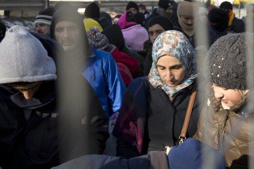 Viceministras: Lietuva dėl pabėgėlių yra pasirengusi uždaryti sieną