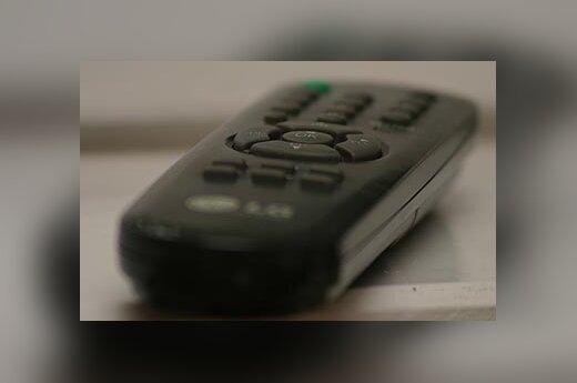 Televizija, televizorius, nuotolinio valdymo pultelis