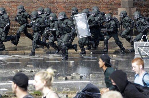 Protestai prieš G-20 susitikimą Hamburge