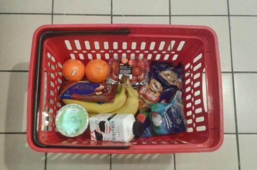 Artėja euras: kaip atrodys maisto produktų krepšelis