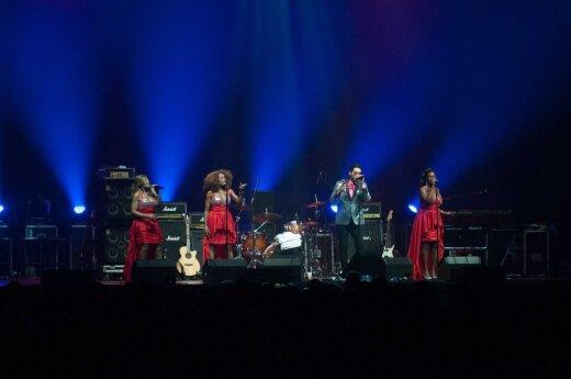 """""""Boney M"""" ir Chriso Normano koncertas Klaipėdoje"""