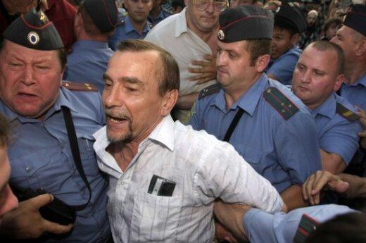 РФ: правозащитника Пономарева вновь арестуют