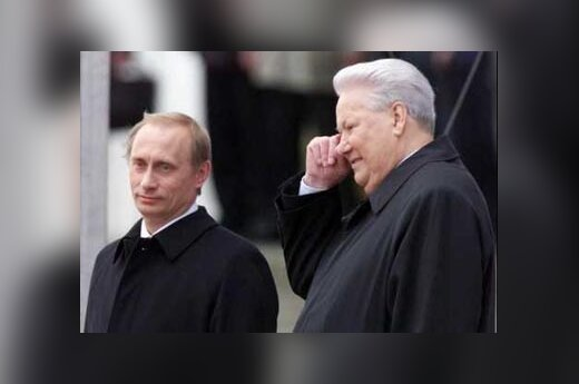 V.Putin, B.Yeltsin