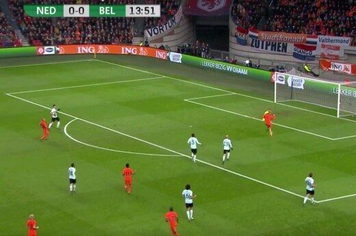 Футболист сборной Голландии потерял память после столкновения с вратарем
