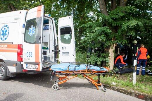 ДТП со смертельным исходом в Лентварисе: погибли два человека