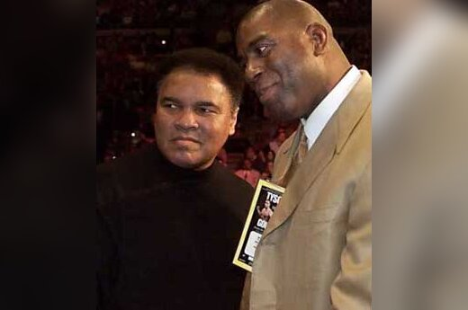 """Dvi legendos - """"Medžikas"""" Johnsonas ir Muhammadas Ali"""