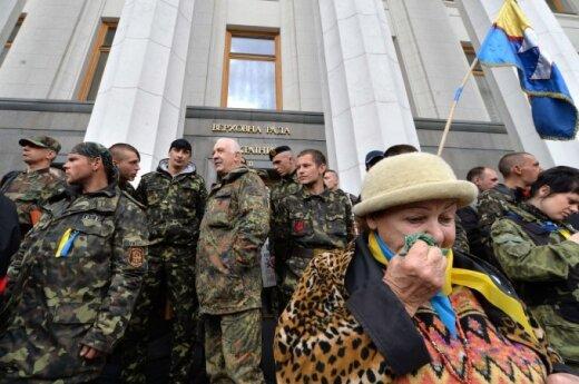 Į Ukrainą vykstantys lietuviai: ne mirties reikia bijoti, ne mirties