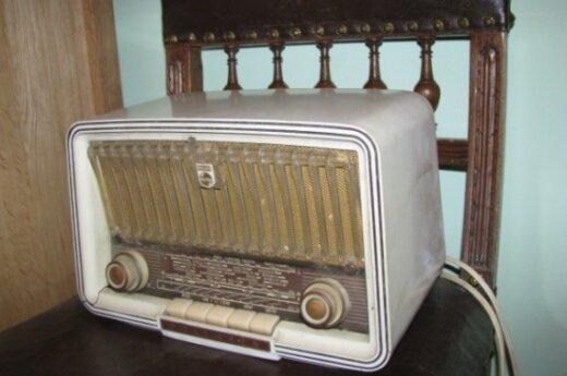 Senas radio grotuvas