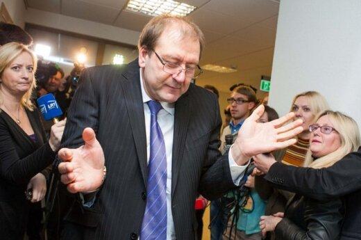 Uspaskich: V.U. w listach: być może chodzi o Uniwersytet Wileński (Vilniaus Universitetas)?