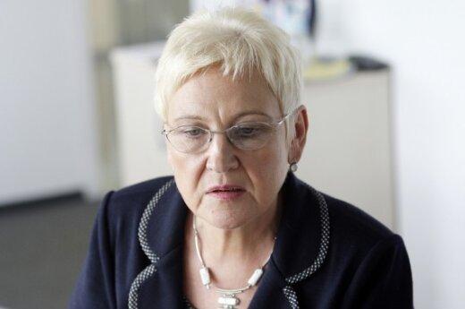Дегутене: я не обладаю властью уволить канцлера Сейма