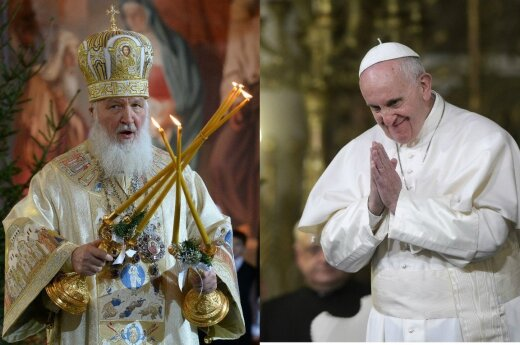 Литовец поможет папе Франциску и патриарху Кириллу понять друг друга